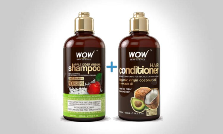 WOW Apple Cider Vinegar Shampoo & Hair Conditioner