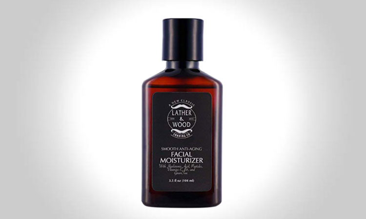 Lather & Wood Shaving Face Moisturizer