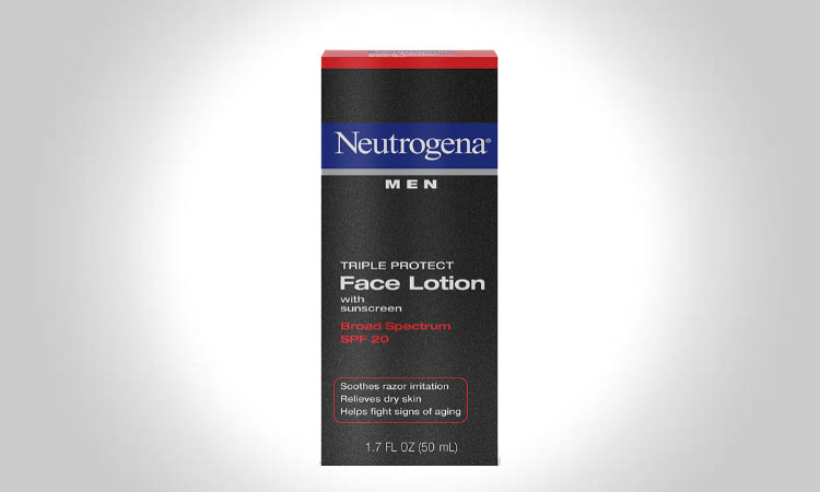 Neutrogena Men's Daily Face Lotion with SPF Sunscreen