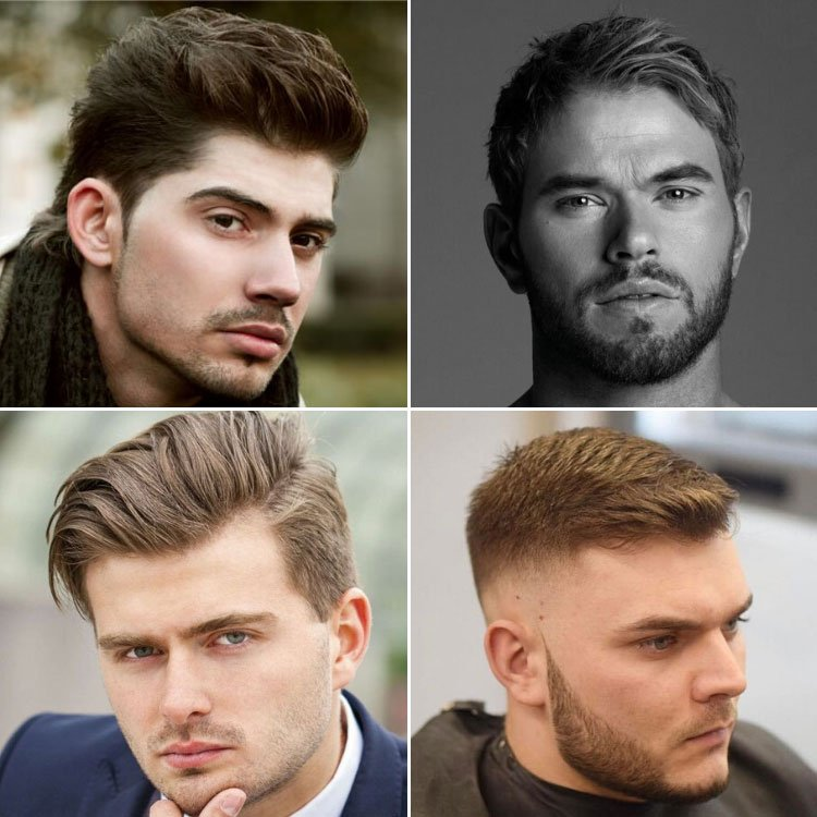 Men's Hairstyles For Round Face Shape