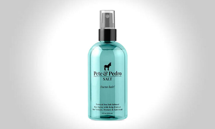 Pete & Pedro Natural Sea Salt Spray For Men