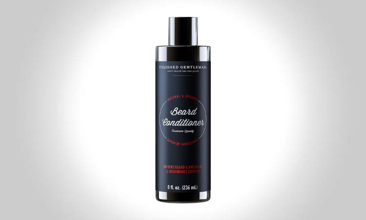 Polished Gentleman Beard Growth and Thickening Conditioner