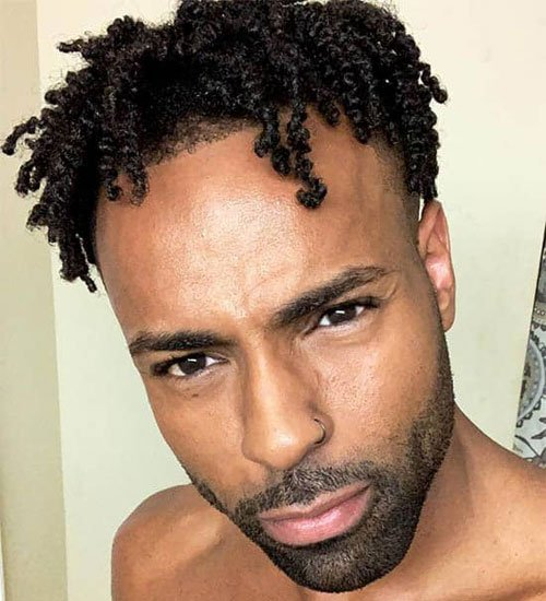 Hair Twists For Black Guys