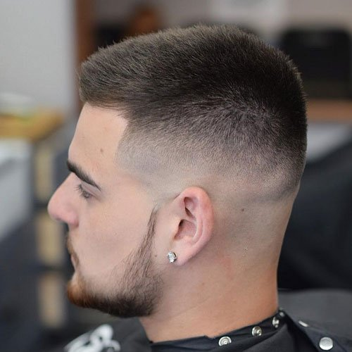 Buzz Cut Taper Fade Haircut