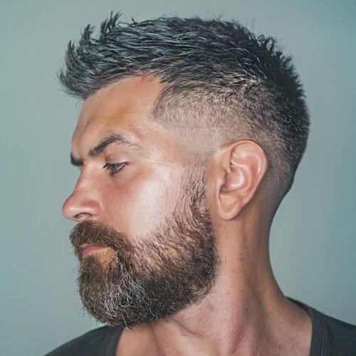 Short Textured Fade Hairstyle