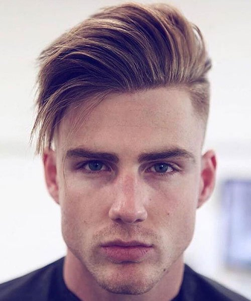 Side Swept Undercut Fade Haircuts