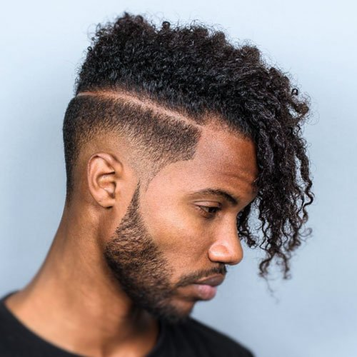 Black Men with Perms