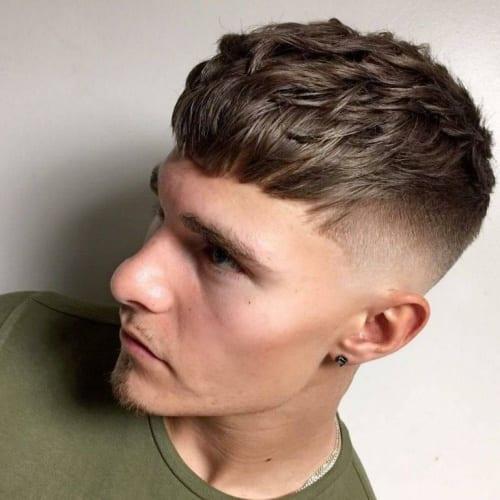 Long Caesar Haircut
