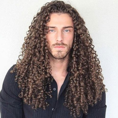 Long Hair with Perm