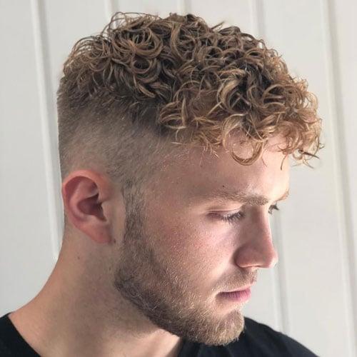 Men's Permed Hair