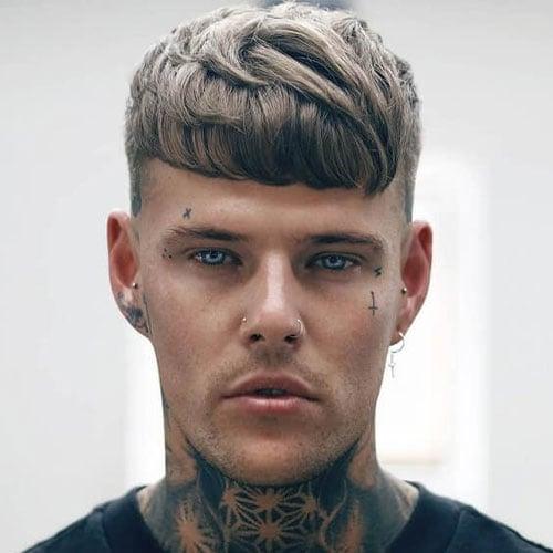 Modern Caesar Haircut