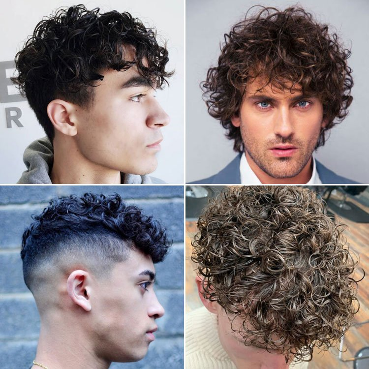 40 Best Perm Hairstyles For Men 2021 Styles