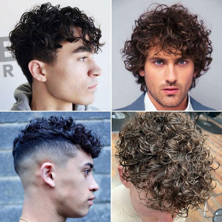Perm Hair Men