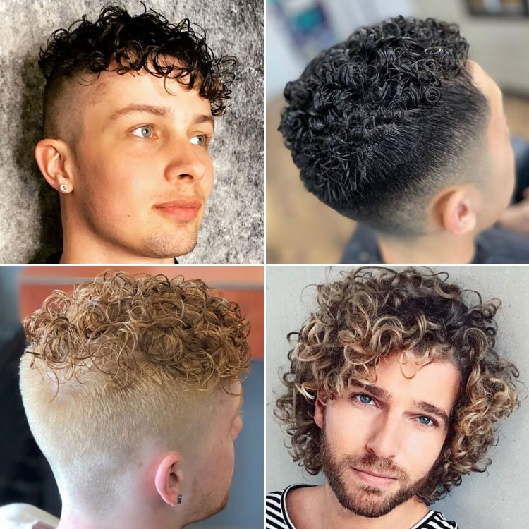 40 Best Perm Hairstyles For Men 2020 Styles