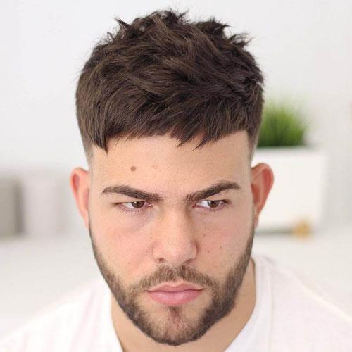 Short Caesar Haircut