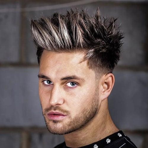 Spiky Hairstyles Men