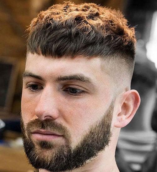 Textured Caesar Haircut