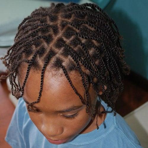 Trenzas De Caja Para Niños Pequeños