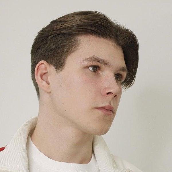 Fade Curtain Haircut