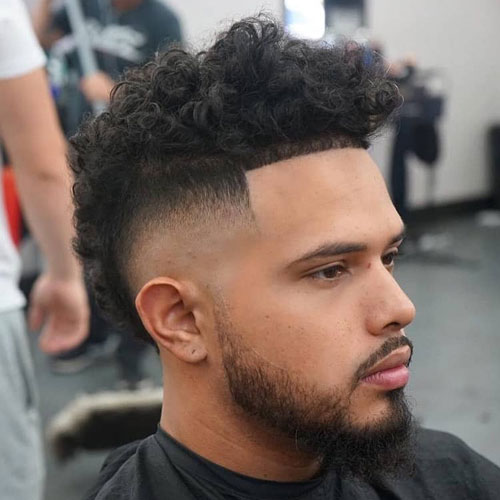 Long Frohawk Hairstyle For Men