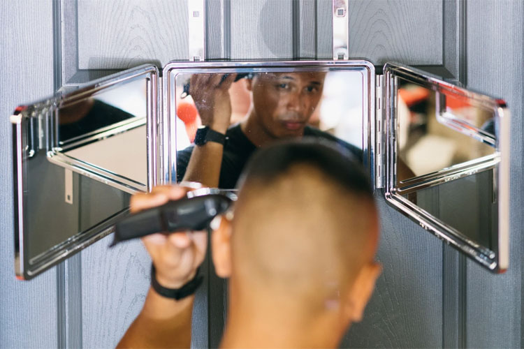 Self Haircut Mirror