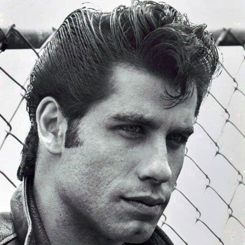 70s Greaser Hairstyles