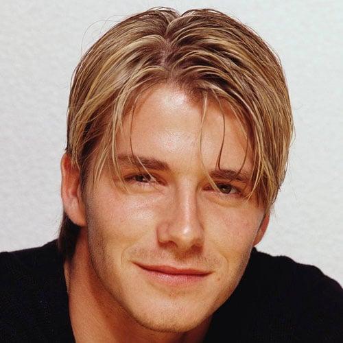 90s Blonde Highlights Men