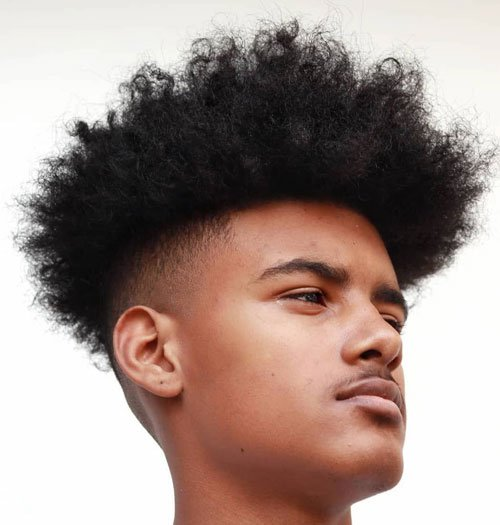 Afro Fade Hairstyles