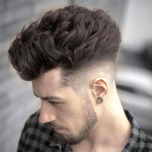 Blowout Taper Fade Hairstyle