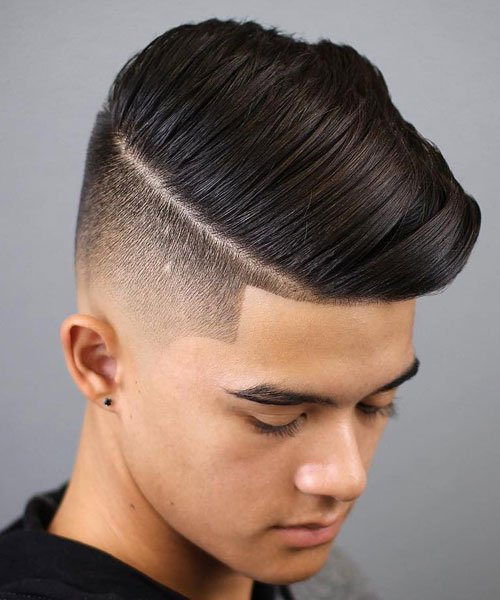 Comb Over Haircut For Teen Boys
