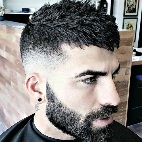 Crop Top Hairstyle For Men