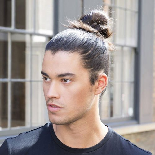 Man Bun Fade For Teen Boys