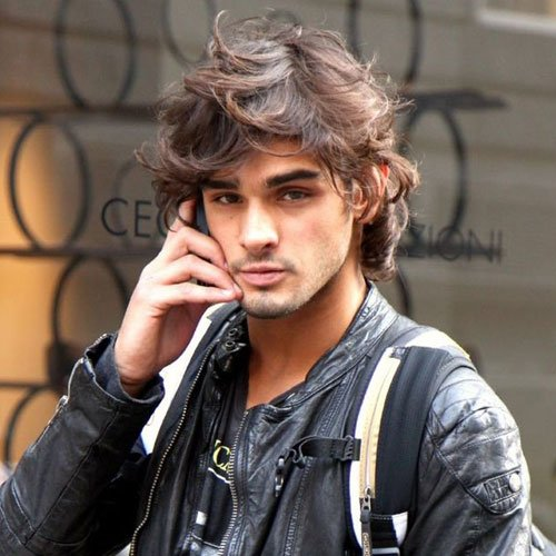Medium Length Messy Hairstyles For Men