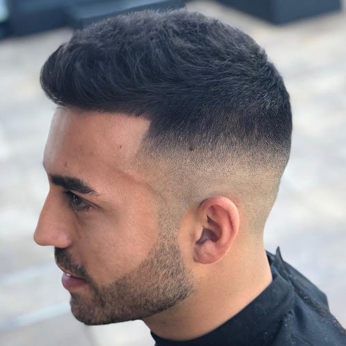 Men's French Crop Hairstyles