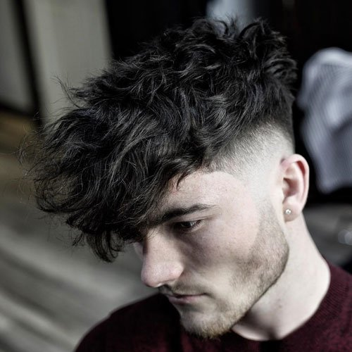 Wavy Hairstyles For Guys