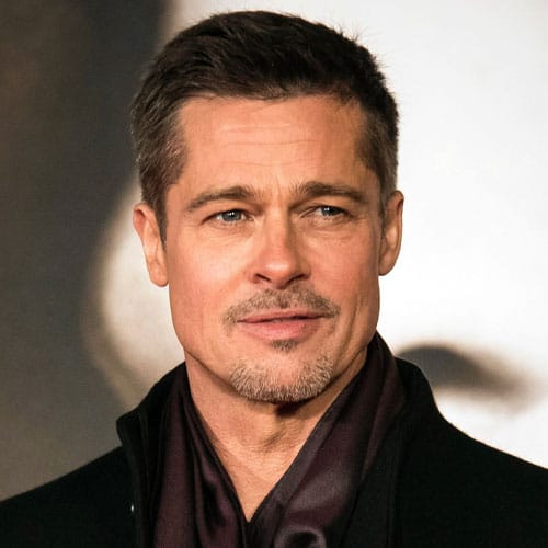 Brad Pitt Crew Cut Haircut