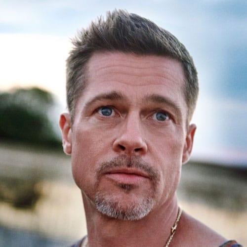 Brad Pitt Crew Cut