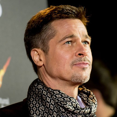 Brad Pitt Fade Haircut