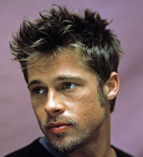 Brad Pitt Fight Club Haircut