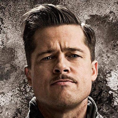 Brad Pitt Inglourious Basterds Hairstyle