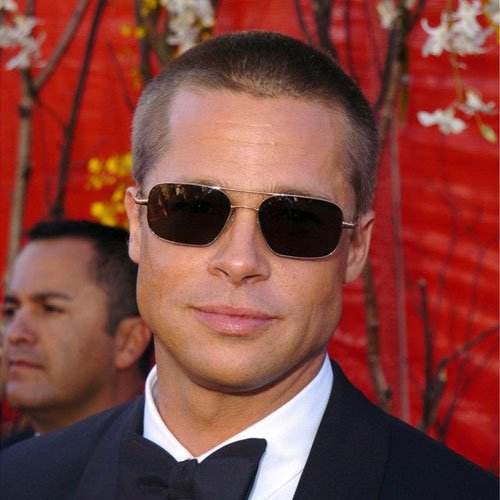 Brad Pitt Mr. and Mrs. Smith Haircut