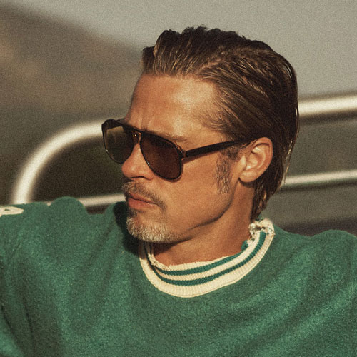 Brad Pitt New Haircut Styles