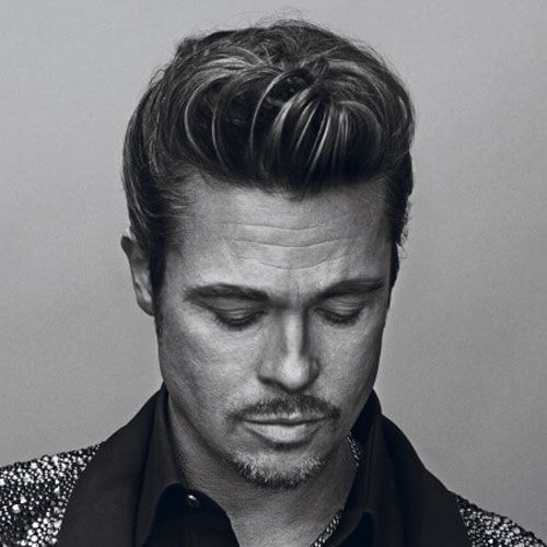 Brad Pitt Pompadour