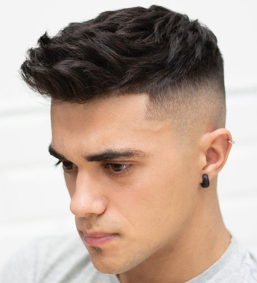 Cool Fade Haircut Styles For Teenage Boys