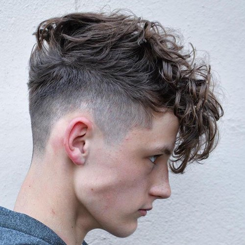 Curly Hairstyles For Teenage Guys