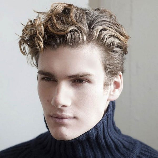 Curly Professional Business Haircuts
