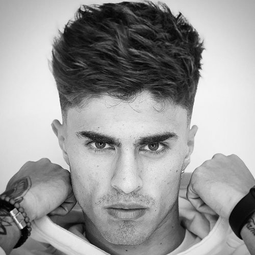 Haircuts For Teenage Guys with Thick Hair