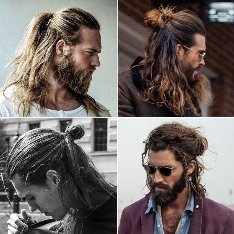 Half-Up Half-Down Hairstyle For Men