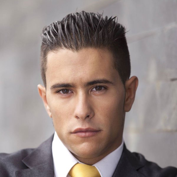 Medium Length Business Hairstyles For Guys
