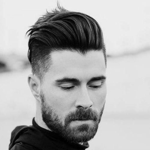 Medium Length Undercut Hairstyles Men